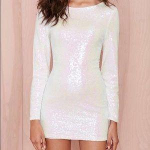 NWT Nasty Gal sequin dress
